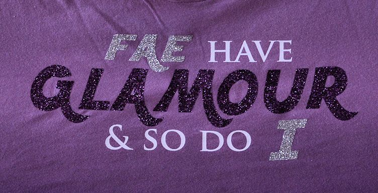 """Glamour"" Ladies Tee - Click Image to Close"