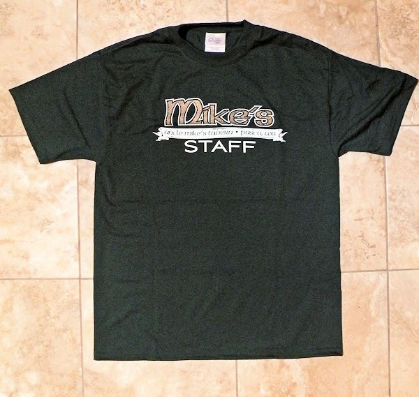 """Uncle Mike's"" Forest Green Tee - Click Image to Close"